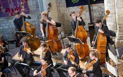 jeune orchestre saintes 2014