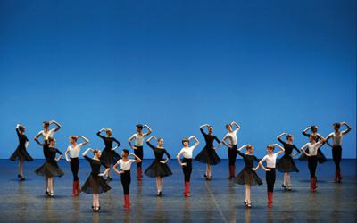 Demonstration Ecole Danse Opera de Paris